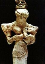 Een Sumerisch kunstwerk, waarvan de artiest nooit had gedacht dat dit vele eeuwen later zou worden beschouwd als hét bewijs van Reptilian aliens.