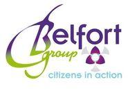 """Belfort-Group is een complottheorieënwebsite die pseudowetenschap en kwakzalverij verspreidt. Een beter bijschrift in het logo zou zijn: """"Conspiracy thinkers in action""""."""
