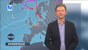 """Belgisch weerman Frank Deboosere, uitvinder van de term """"ochtendgrijs""""."""
