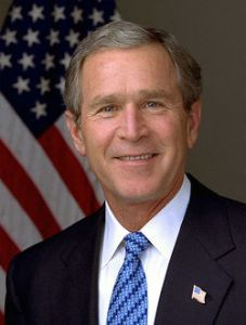 "George ""they misunderestimated me"" W. Bush"