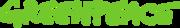 Het logo van Greenpeace, een naam die in schril contrast staat met wat de vermeende milieuorganisatie in de praktijk werkelijk doet.