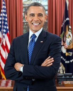 Amerikaans president Barack Soetoro Saddam Hoessein Osama Obama Bin Laden